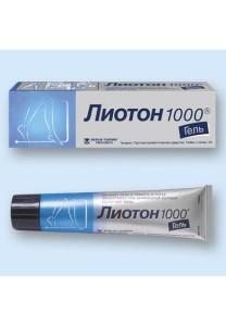 Лиотон 1000 - препарат от варикоза